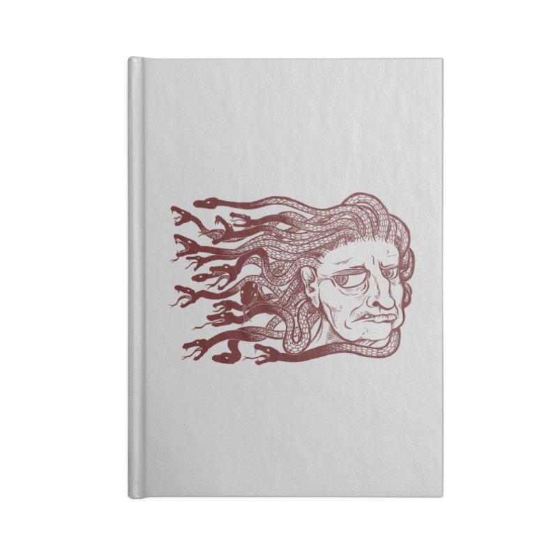 Gorgon Accessories Blank Journal Notebook by SkullyFlower's Sweetly Creepy Tees