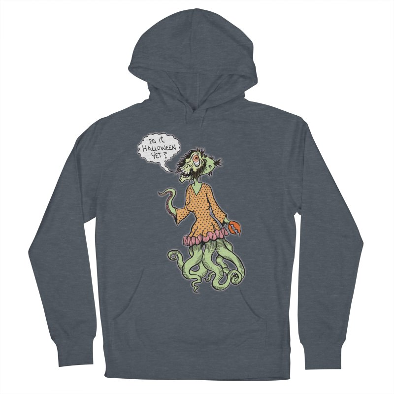 Is It Halloween Yet? Men's Pullover Hoody by SkullyFlower's Sweetly Creepy Tees