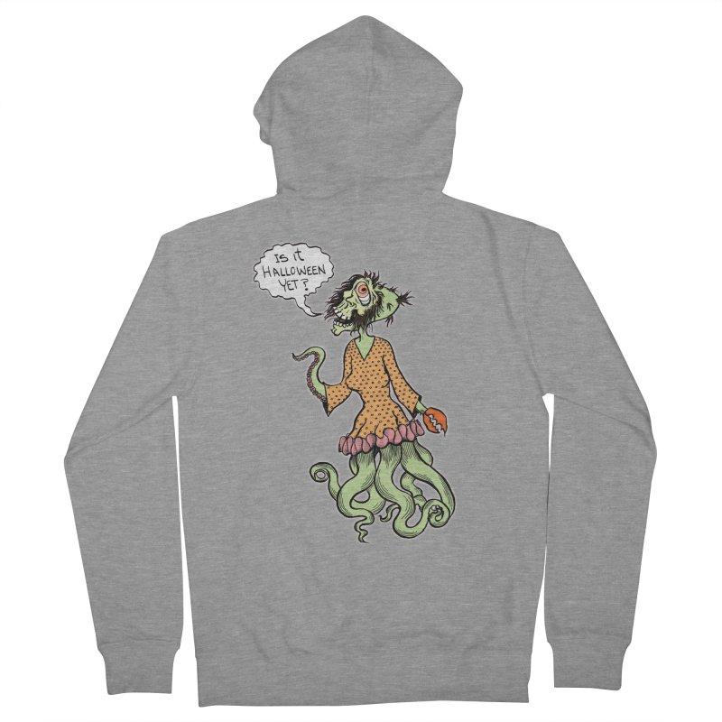 Is It Halloween Yet? Men's Zip-Up Hoody by SkullyFlower's Sweetly Creepy Tees