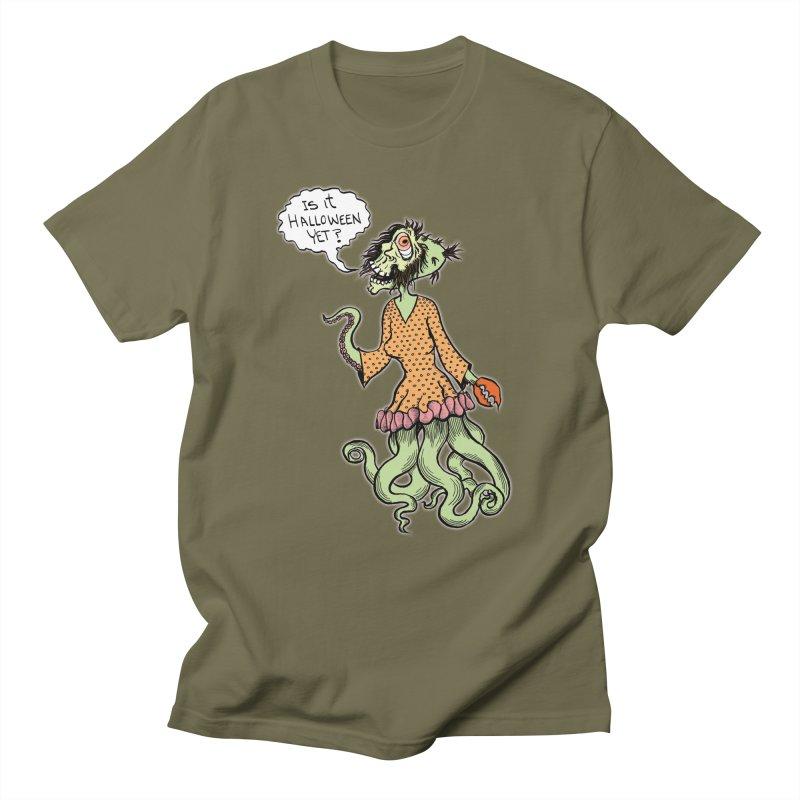Is It Halloween Yet? Women's Unisex T-Shirt by SkullyFlower's Sweetly Creepy Tees