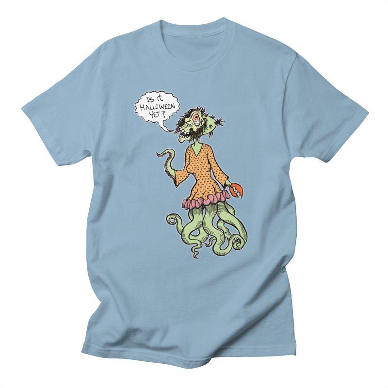 Is It Halloween Yet? Men's T-Shirt by SkullyFlower's Sweetly Creepy Tees