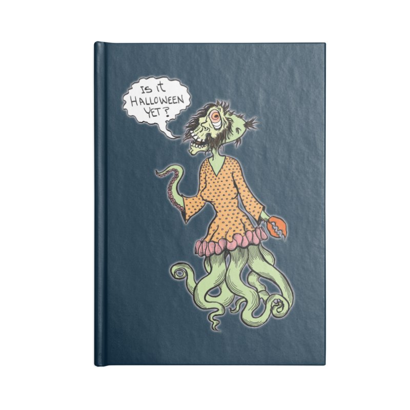 Is It Halloween Yet? Accessories Notebook by SkullyFlower's Sweetly Creepy Tees