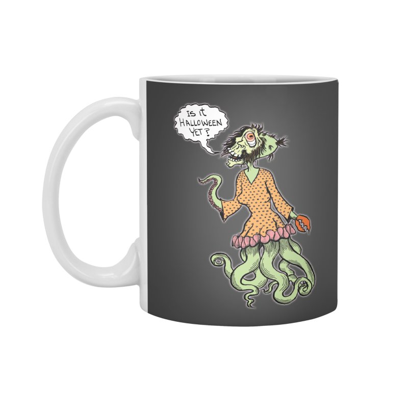 Is It Halloween Yet? Accessories Mug by SkullyFlower's Sweetly Creepy Tees
