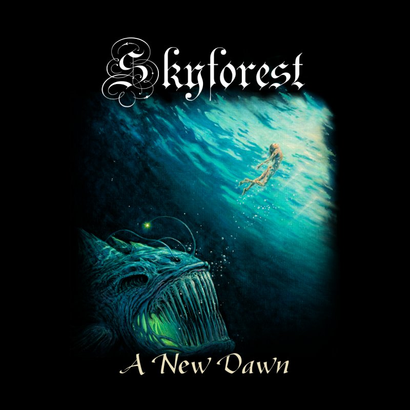 """Skyforest A New Dawn (""""Along the waves"""") by B.M."""