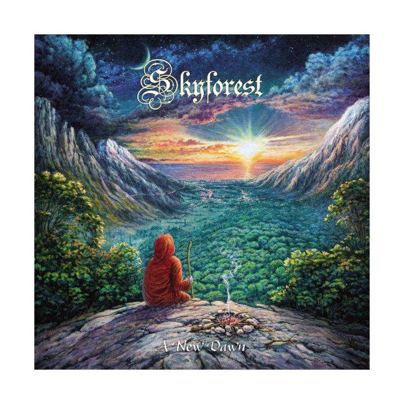 Skyforest A New Dawn ART PRINT by B.M.