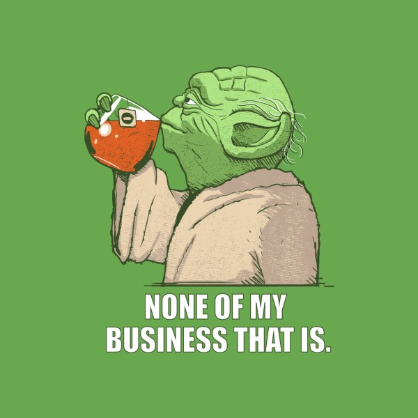 image for None of my Business