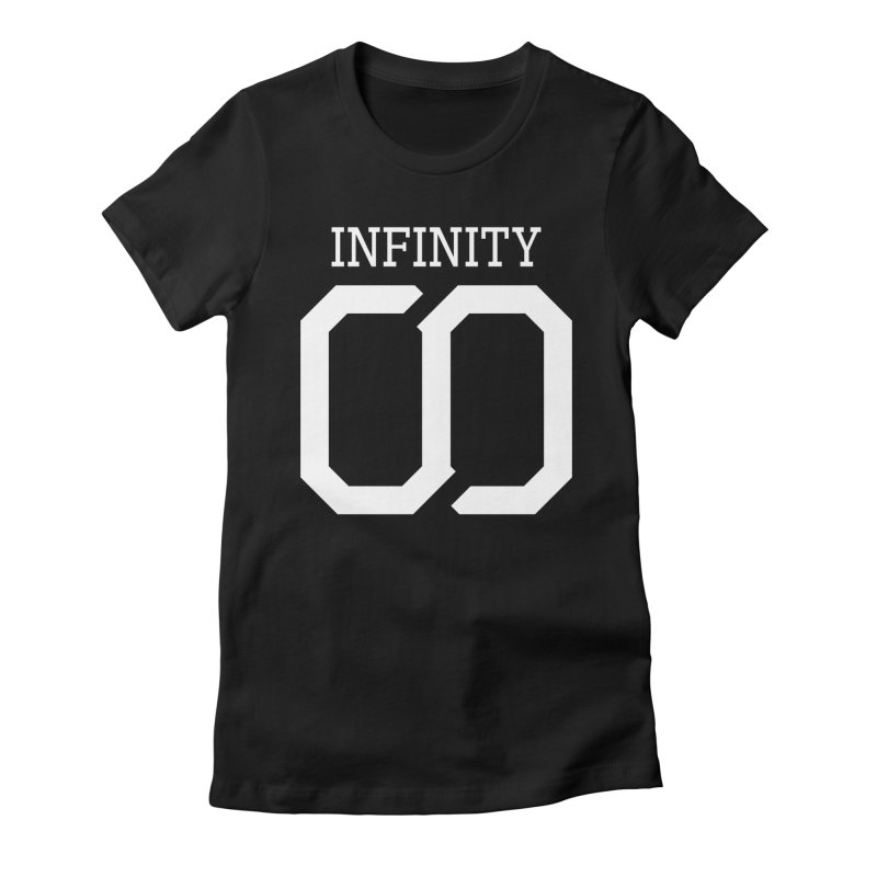 Infinity Women's Fitted T-Shirt by SKYLINR's Artist Shop