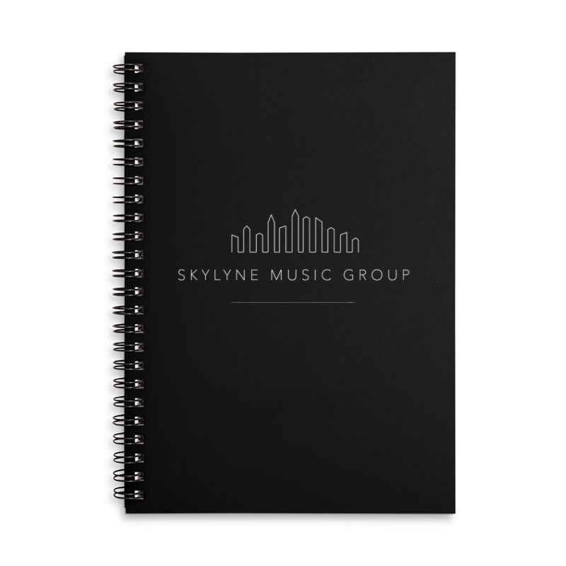 Skylyne Designs Accessories Lined Spiral Notebook by Skylyne Music Group Store