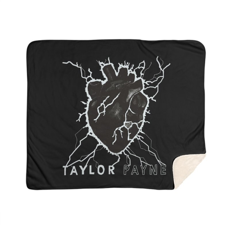 Taylor Payne Designs Home Sherpa Blanket Blanket by Skylyne Music Group Store