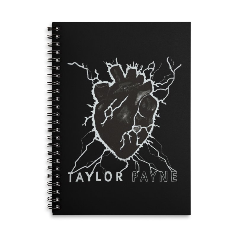 Taylor Payne Designs Accessories Lined Spiral Notebook by Skylyne Music Group Store