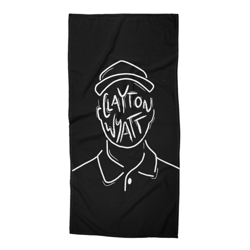 Clayton Wyatt Design Accessories Beach Towel by Skylyne Music Group Store