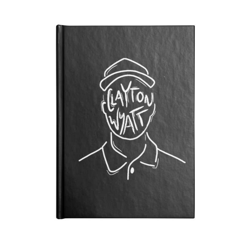 Clayton Wyatt Design Accessories Blank Journal Notebook by Skylyne Music Group Store