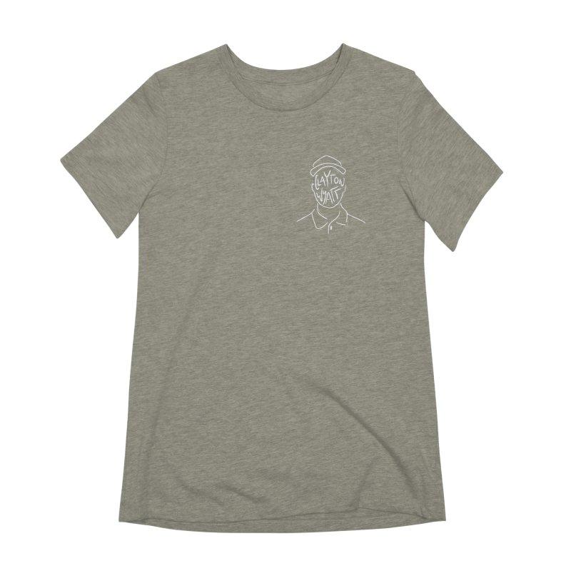 Clayton Wyatt Design Women's Extra Soft T-Shirt by Skylyne Music Group Store