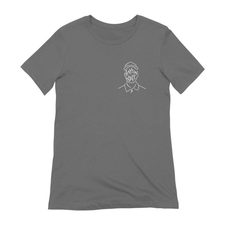 Clayton Wyatt Design Women's T-Shirt by Skylyne Music Group Store