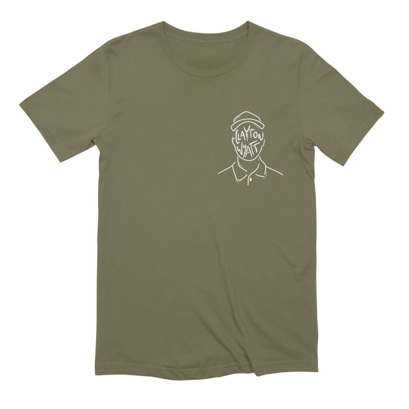 Clayton Wyatt Design Men's Extra Soft T-Shirt by Skylyne Music Group Store