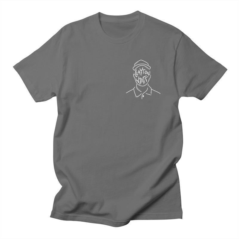 Clayton Wyatt Design Men's T-Shirt by Skylyne Music Group Store