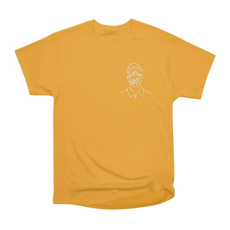 Clayton Wyatt Design Women's Heavyweight Unisex T-Shirt by Skylyne Music Group Store