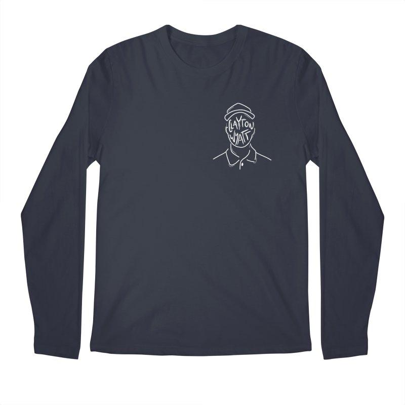 Clayton Wyatt Design Men's Regular Longsleeve T-Shirt by Skylyne Music Group Store
