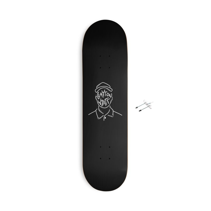 Clayton Wyatt Design Accessories With Hanging Hardware Skateboard by Skylyne Music Group Store