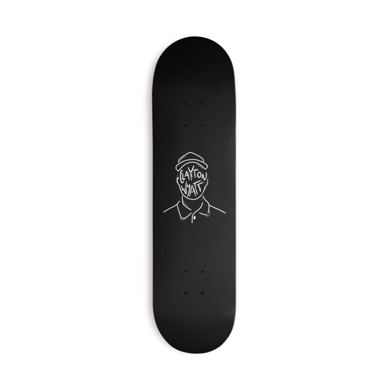 Clayton Wyatt Design Accessories Deck Only Skateboard by Skylyne Music Group Store