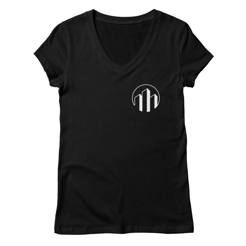 Skylyne Merchandise Women's Regular V-Neck by Skylyne Music Group Store