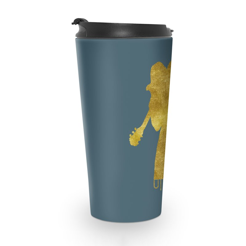 U-Nam - Guitar Gold Collection Accessories Travel Mug by Skytown Records Official Merch Store