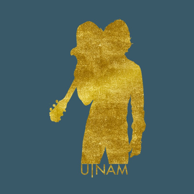 U-Nam - Guitar Gold Collection Women's V-Neck by Skytown Records Official Merch Store