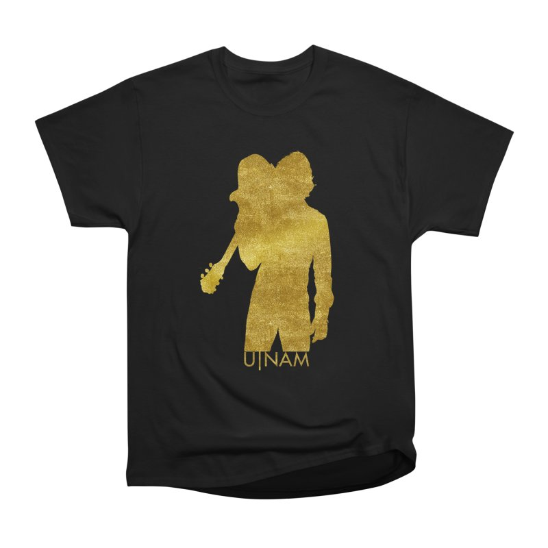 U-Nam - Guitar Gold Collection Women's Heavyweight Unisex T-Shirt by Skytown Records Official Merch Store