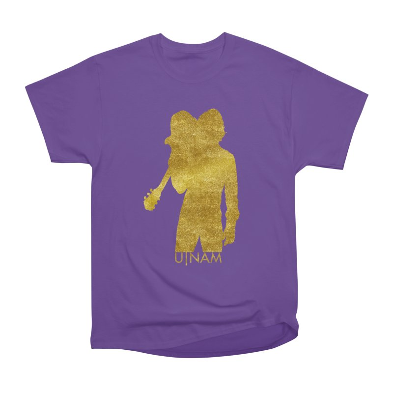 U-Nam - Guitar Gold Collection Men's Heavyweight T-Shirt by Skytown Records Official Merch Store