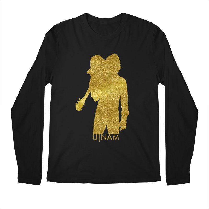 U-Nam - Guitar Gold Collection Men's Regular Longsleeve T-Shirt by Skytown Records Official Merch Store