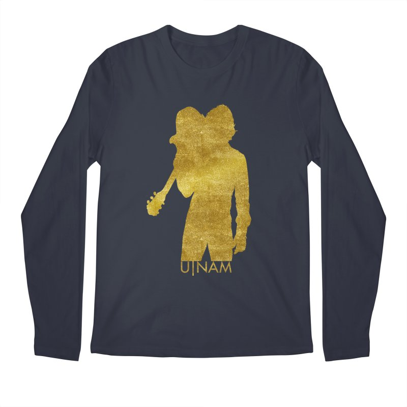U-Nam - Guitar Gold Collection Men's Longsleeve T-Shirt by Skytown Records Official Merch Store