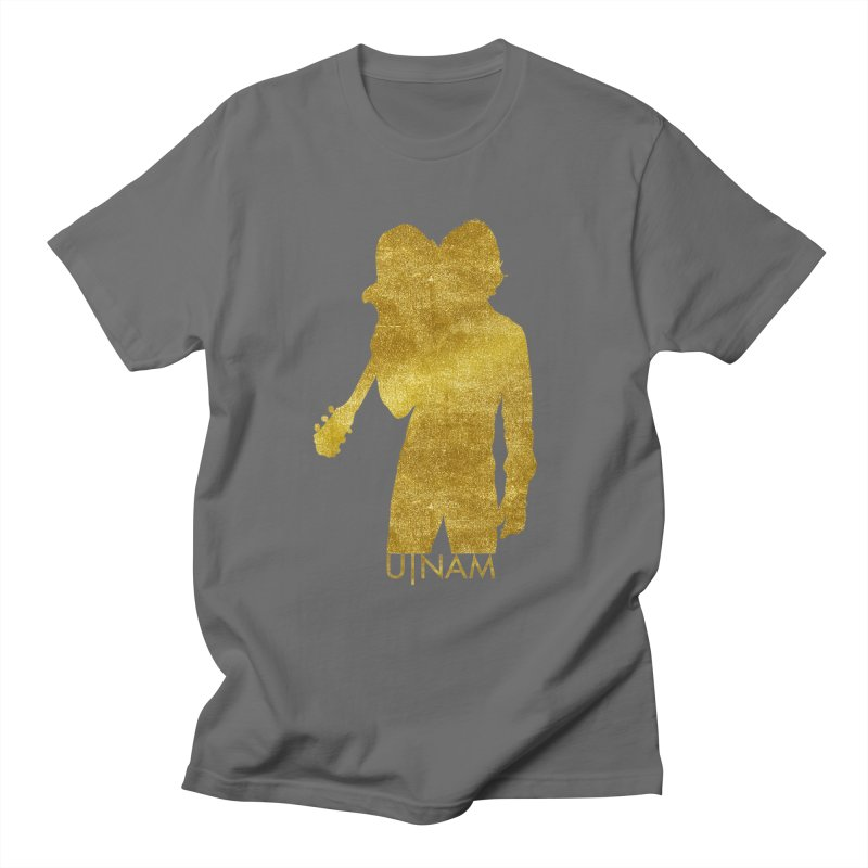 U-Nam - Guitar Gold Collection Men's Regular T-Shirt by Skytown Records Official Merch Store