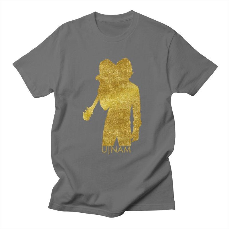 U-Nam - Guitar Gold Collection Women's Regular Unisex T-Shirt by Skytown Records Official Merch Store