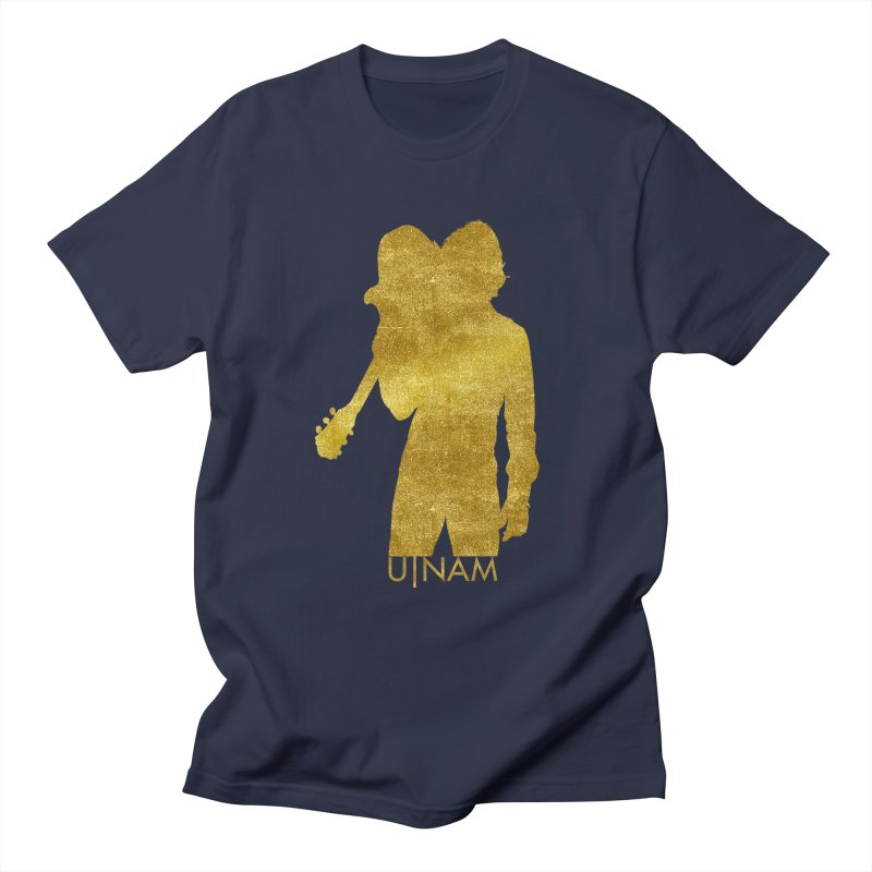 U-Nam - Guitar Gold Collection Women's Unisex T-Shirt by Skytown Records Official Merch Store