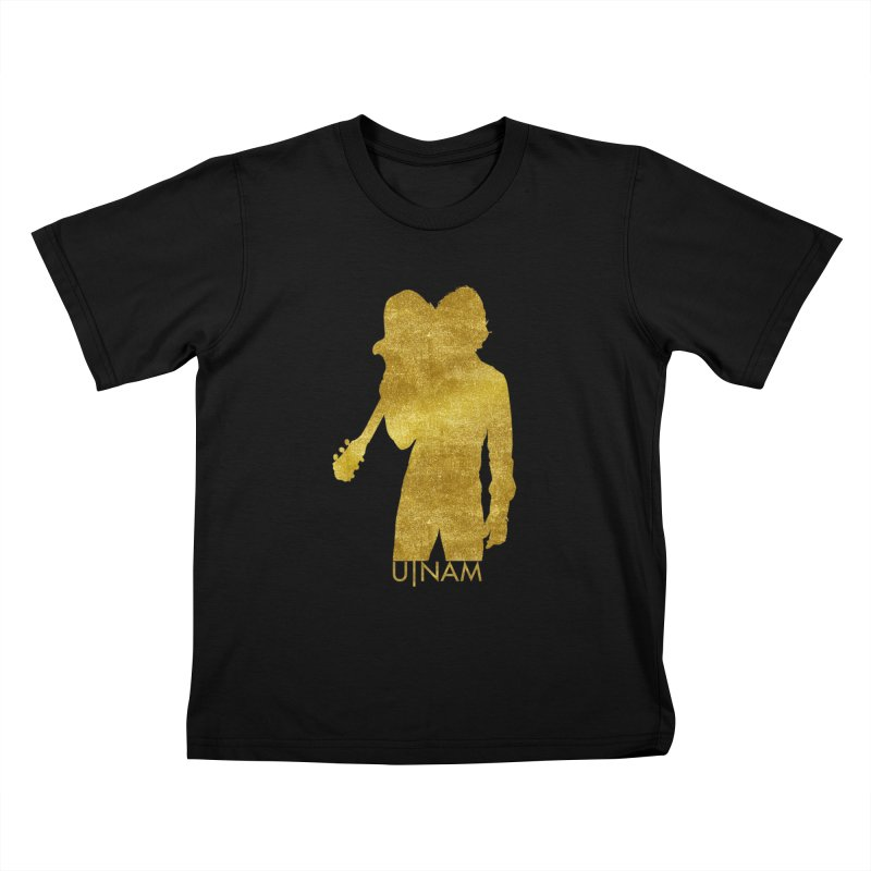 U-Nam - Guitar Gold Collection Kids T-Shirt by Skytown Records Official Merch Store