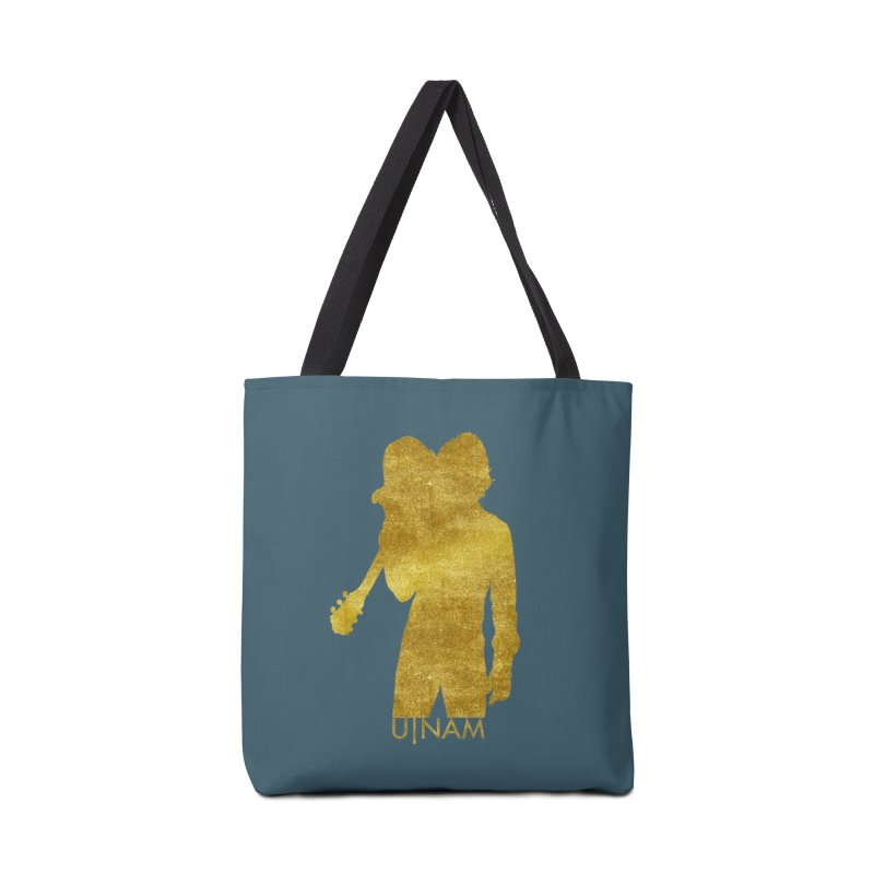 U-Nam - Guitar Gold Collection Accessories Tote Bag Bag by Skytown Records Official Merch Store