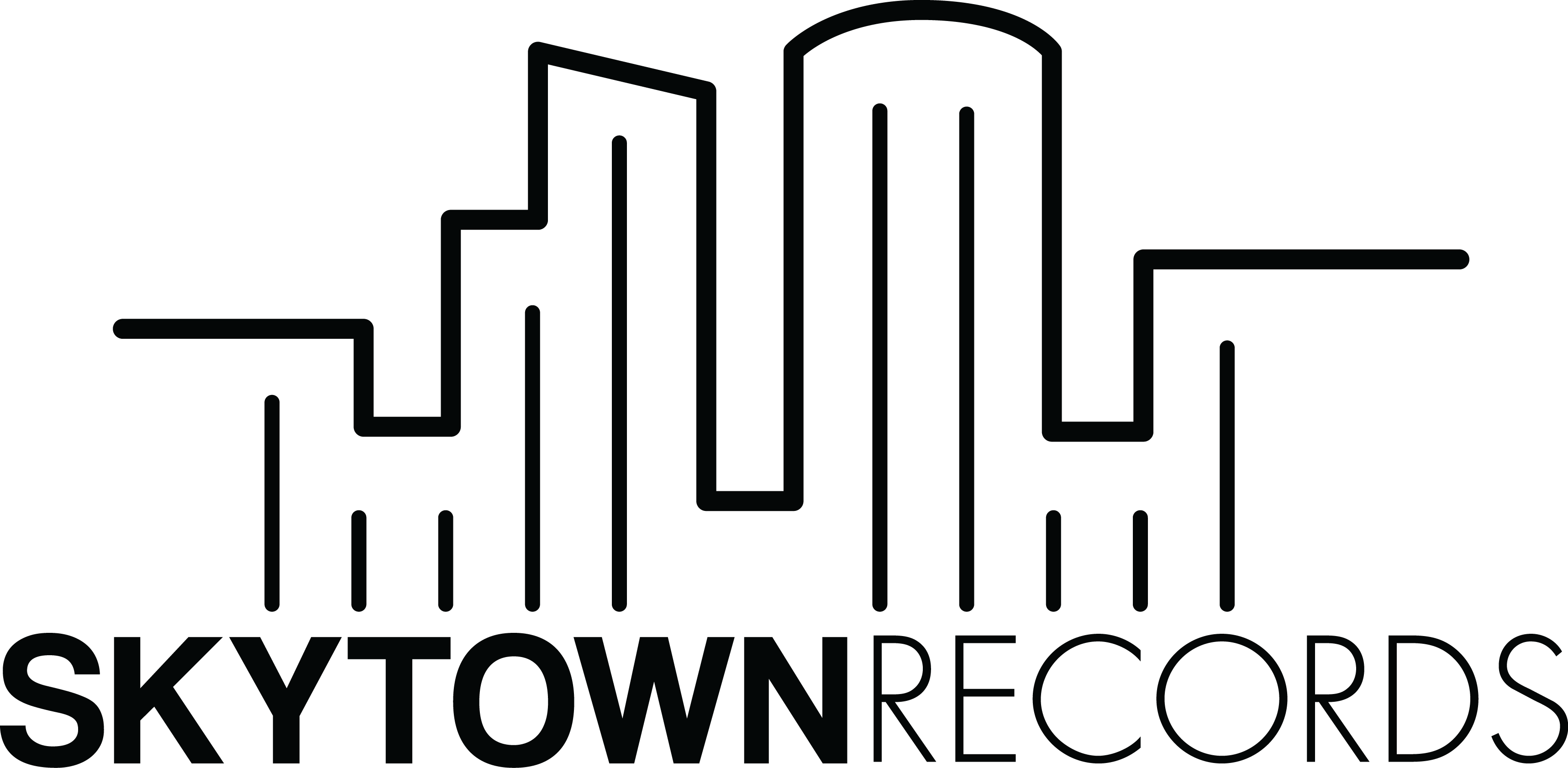 Skytown Records Official Merch Store Logo