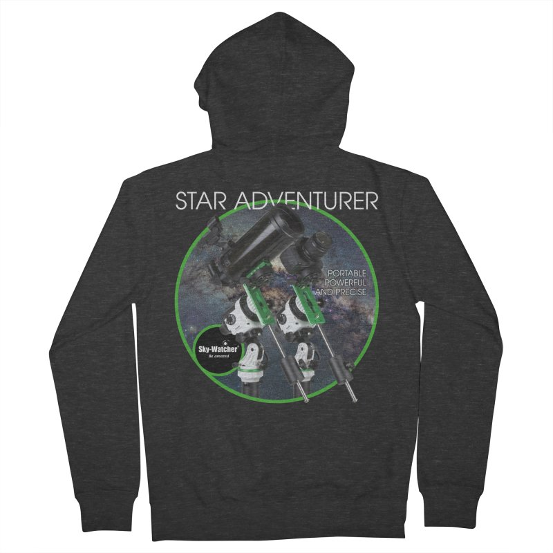 ProductSeries_StarAdventurer Men's Zip-Up Hoody by Sky-Watcher's Artist Shop