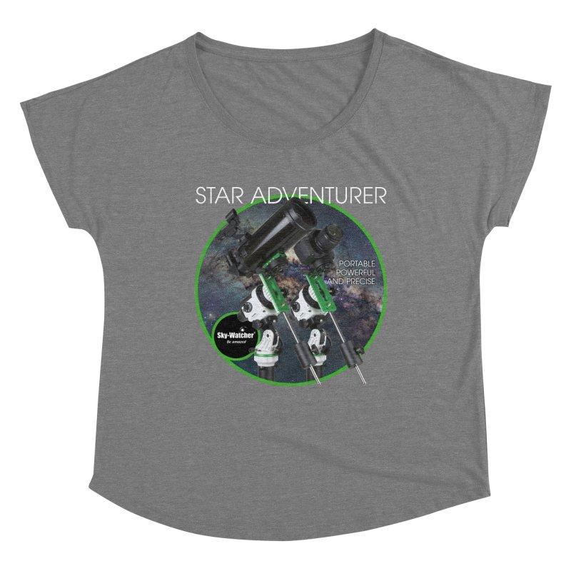 ProductSeries_StarAdventurer Women's Scoop Neck by Sky-Watcher's Artist Shop