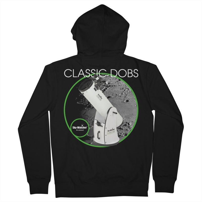 ProductSeries_ClassicDobs Men's Zip-Up Hoody by Sky-Watcher's Artist Shop