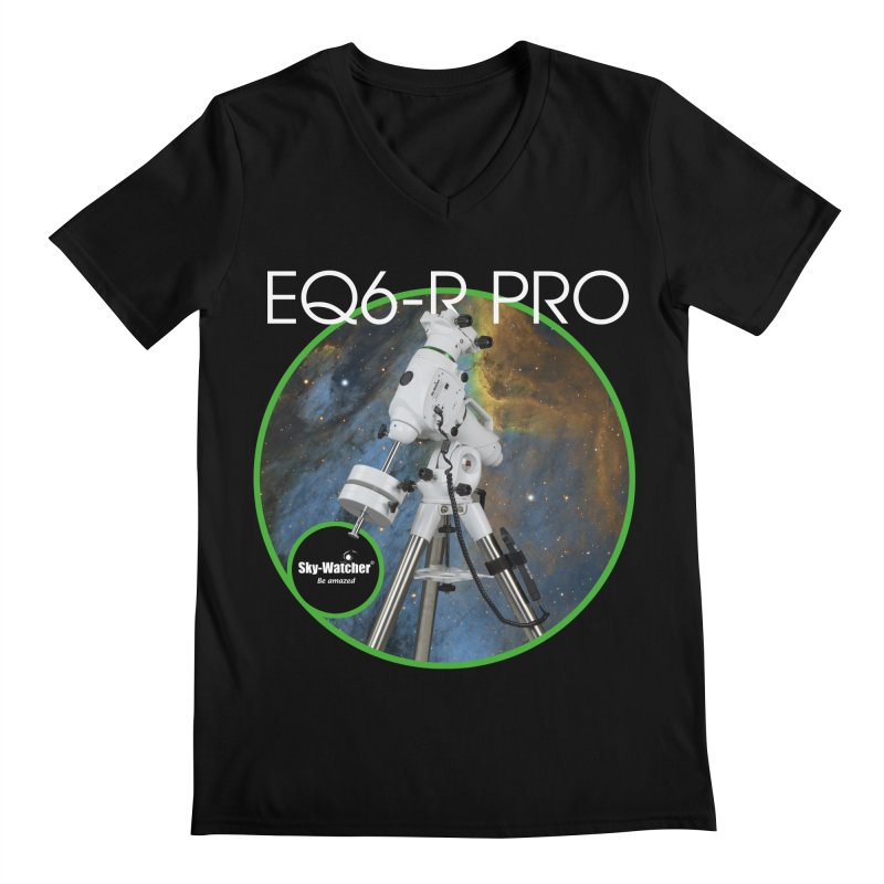 ProductSeries_EQ6-RPro Men's V-Neck by Sky-Watcher's Artist Shop