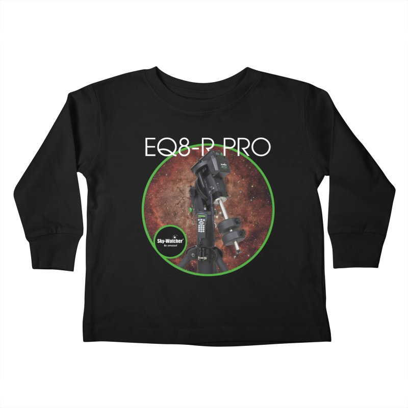 ProductSeries_EQ8-RPro mount Kids Toddler Longsleeve T-Shirt by Sky-Watcher's Artist Shop