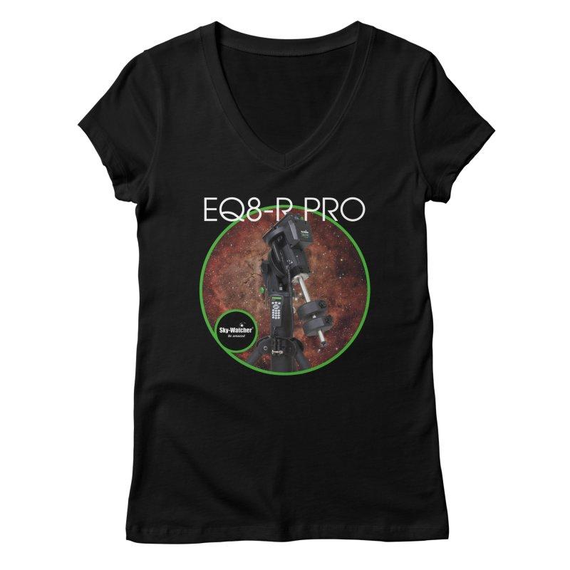 ProductSeries_EQ8-RPro mount Women's V-Neck by Sky-Watcher's Artist Shop