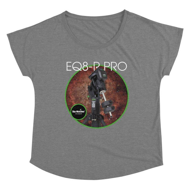 ProductSeries_EQ8-RPro mount Women's Scoop Neck by Sky-Watcher's Artist Shop