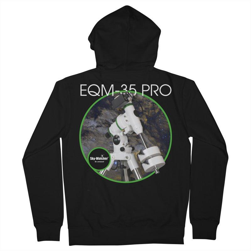 Product Series_EQM-35 Pro mount Men's Zip-Up Hoody by Sky-Watcher's Artist Shop