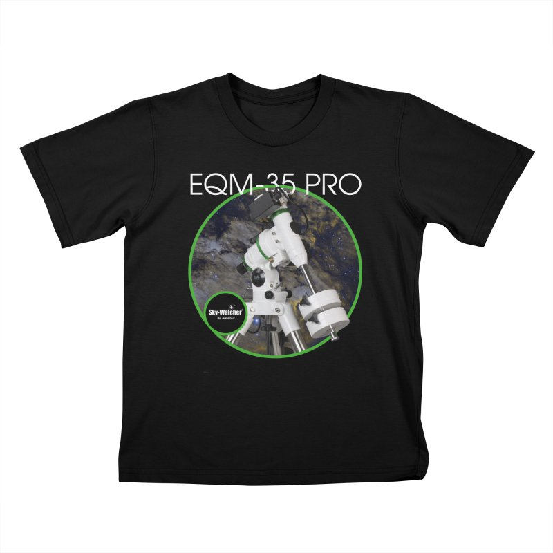 Product Series_EQM-35 Pro mount Kids T-Shirt by Sky-Watcher's Artist Shop