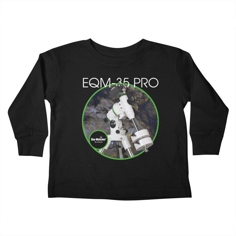 Product Series_EQM-35 Pro mount Kids Toddler Longsleeve T-Shirt by Sky-Watcher's Artist Shop