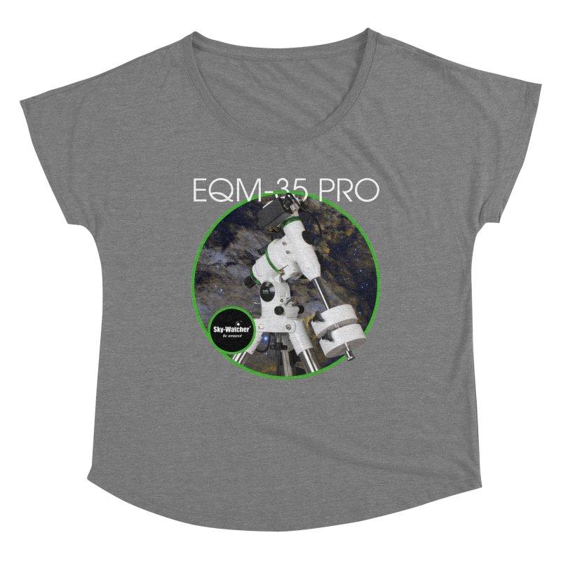 Product Series_EQM-35 Pro mount Women's Scoop Neck by Sky-Watcher's Artist Shop