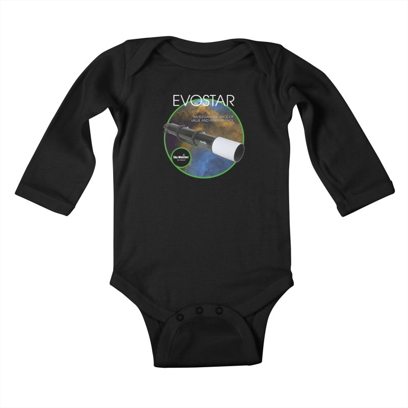 Product Series_Evostar doublets Kids Baby Longsleeve Bodysuit by Sky-Watcher's Artist Shop