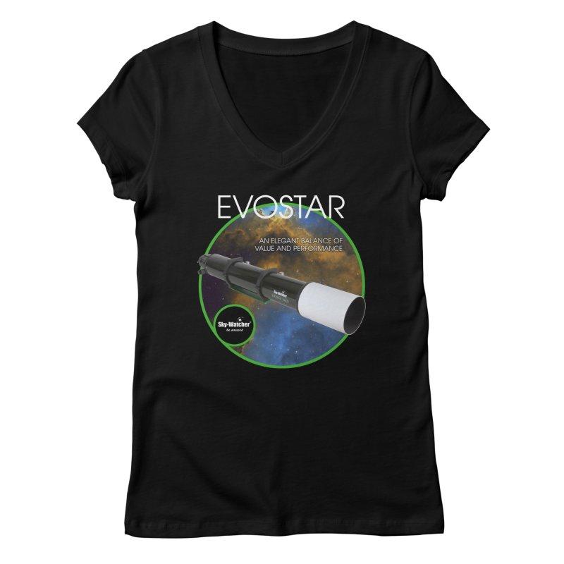Product Series_Evostar doublets Women's V-Neck by Sky-Watcher's Artist Shop